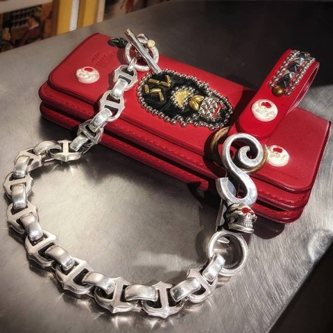 8 Ball Wallet Chain Special Set