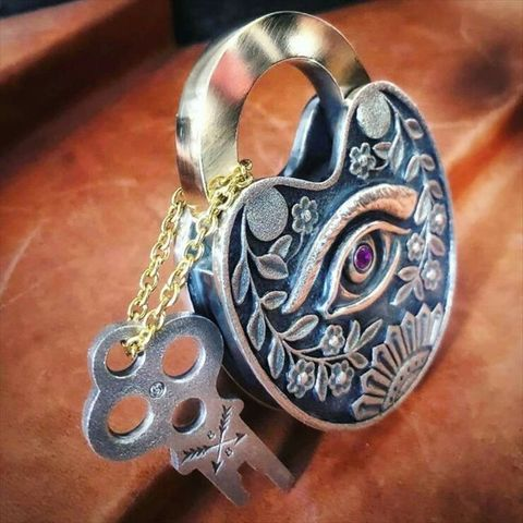 "JUNK SMITH ""One Eye Padlock"" Special Limited Model"