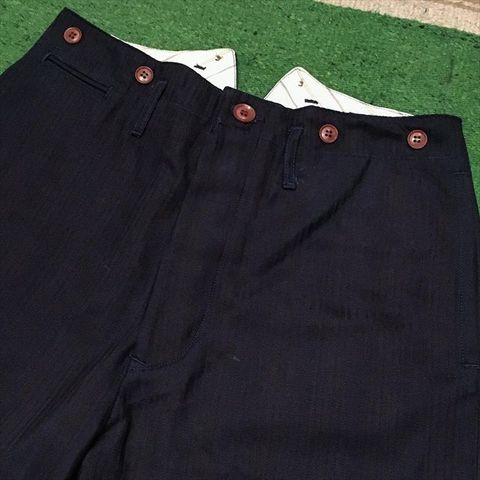 "Dapper's ""Classical Narrow Trousers Type Hi-Back LOT1168"""