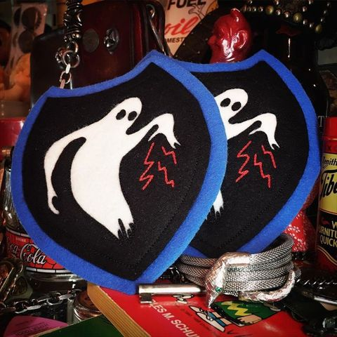 """8 Sewing Co. """"Ghost"""" Patch"""