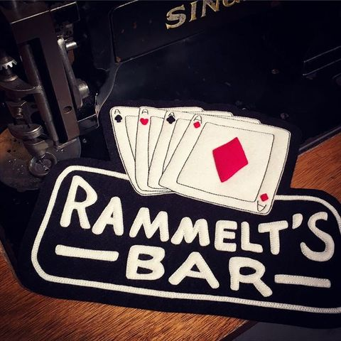 "8 Sewing Co. ""RAMMELT'S BAR"" Patch"