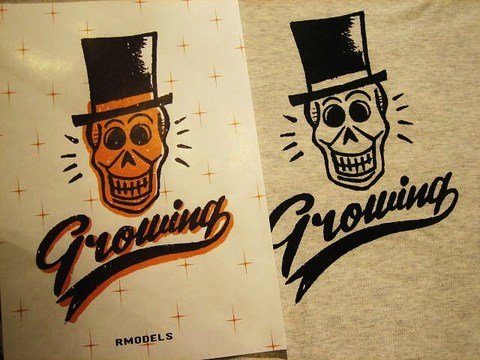 """RUSSET & MIND """"Growing"""" T-SHIRTS"""
