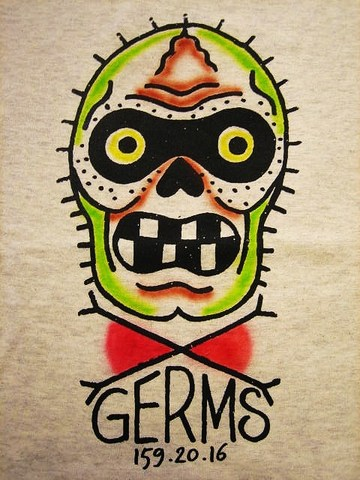 """RUSSET & MIND GERMS T-SHIRTS """"AIR BRUSH"""""""