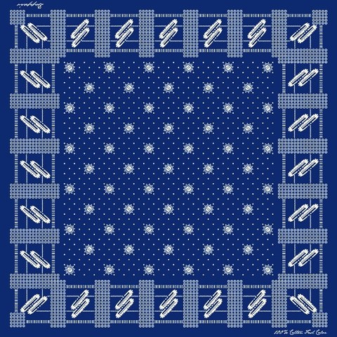 "Dapper's ""Space Pattern Bandanna LOT1333"""