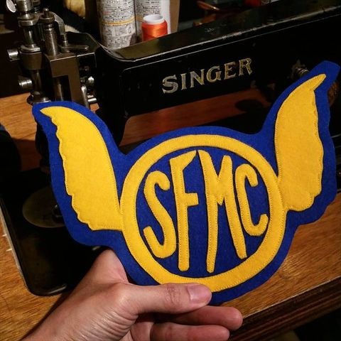 "8 Sewing Co. ""SFMC"" Patch"