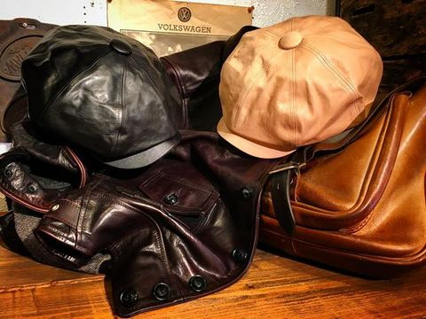 "SPEIER'S × 8UP ""Premium Leather Casquette"""