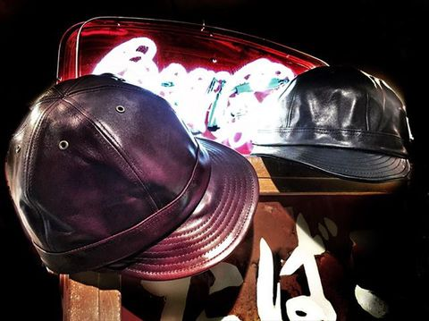 """Speier's """"Premium Quality Horse Leather Work Cap"""""""