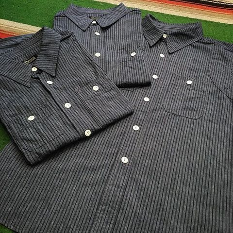 "Dapper's Special Edition ""Triple-Stitched Ventilation Work Shirts LOT1200"""