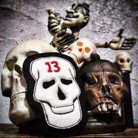 13 Head Skull