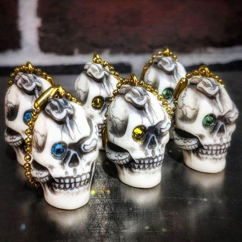 """R MODELS × 8UP """"Skull & Snake Key Chain"""""""