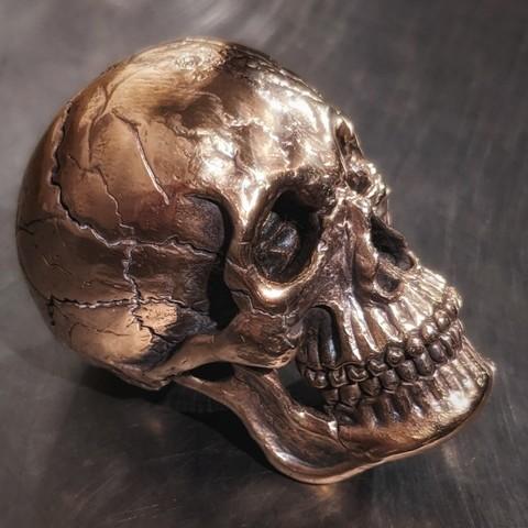 "JUNK SMITH ""Large Skull Head"""