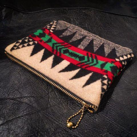 "Dapper's ""Native Pattern Blanket Purse"""