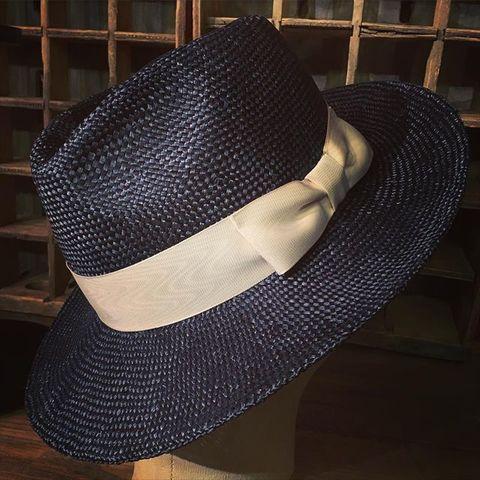 """Speier's """"Classical Qing Ramie Brim Hat LOT SC-012"""""""