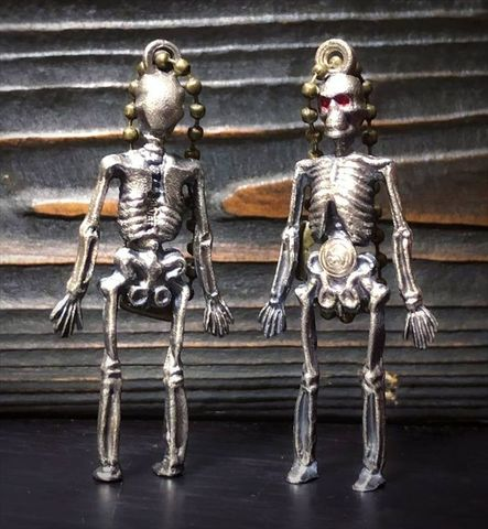 "JUNK SMITH Skull Doll Special Edition ""Silver 900"""