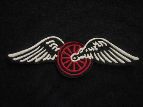 FLYING WHEEL PATCH① (OLD TYPE)
