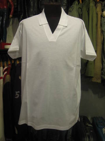 MODERN V-NECK POLO LOT792