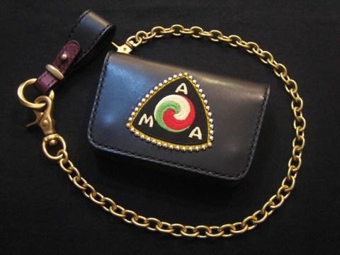"Biker's Wallet&Chain  ""AMA"""