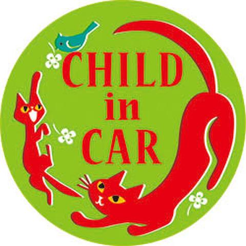 CHILD IN CAR カラーステッカー