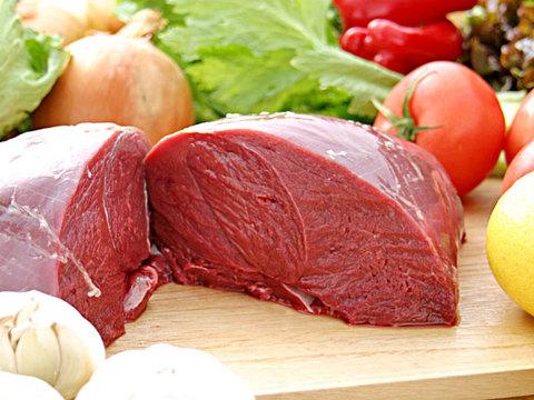 えぞ鹿もも肉 (冷凍ブロック)ヘルシーさNO1 1kg