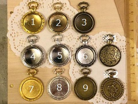 懐中時計セッティング皿(小)