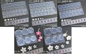 フラワー立体型 桜(極小)/桃(極小)/梅(極小)/桃/梅