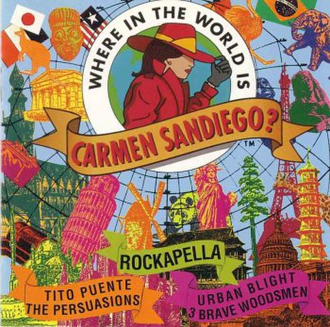 Rockapella, etc. : Where in the World is Carmen Sandiego? [Used]