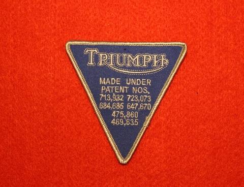 <PATCH> TRIUMPH triangle