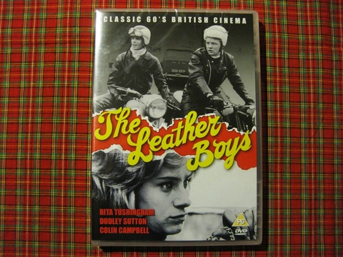 DVD [THE LEATHER BOYS] PAL仕様