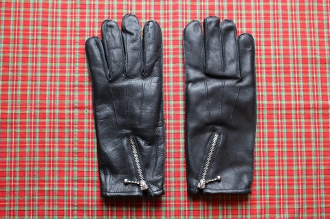 <GOLDTOP> ZIP GLOVES Fleece Lining