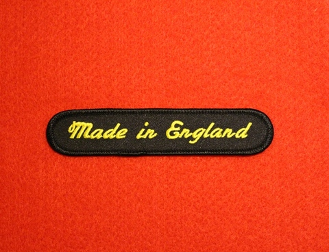 <PATCH> MADE IN ENGLAND
