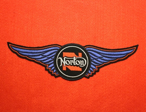 <WING PATCH> NORTON