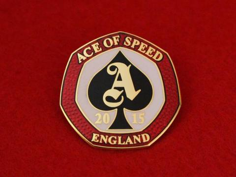 ACE OF SPEED 10th Anniversary Badge