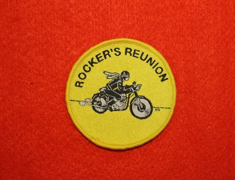 <PATCH> ROCKERS REUNION yellow