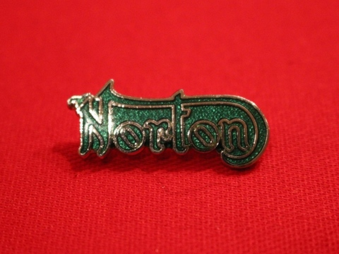 <BADGE> NORTON Outline Green