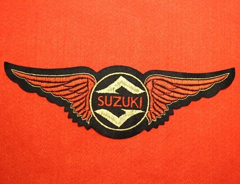 <WING PATCH> SUZIKI