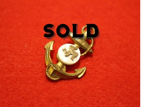 ISLE OF MAN BROOCH Anchor [A]