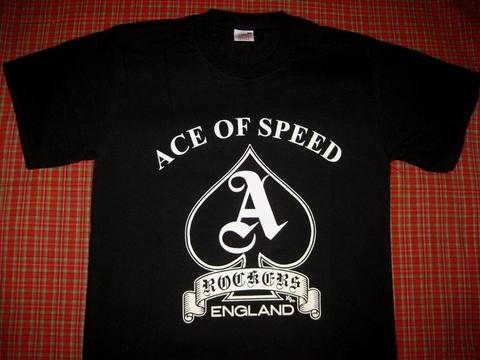 <ACE OF SPEED> SPADE T-SHIRT