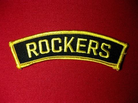 <SHOULDER PATCH> ROCKERS