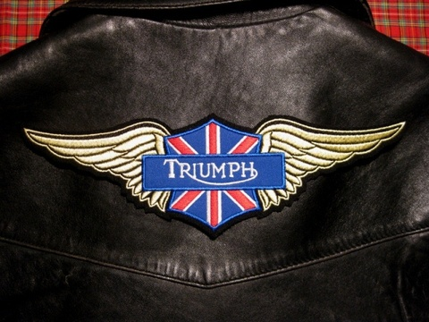 <WING PATCH> TRIUMPH
