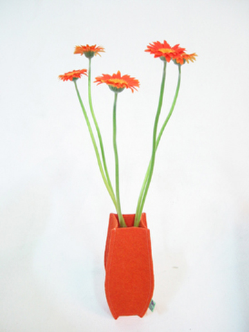 Felt Vase long