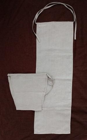 キナリ 麻古代ふんどし&麻パンツのお得な二枚セット