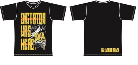 DIAURA Temptation to Trance Gate Tour T-shirt