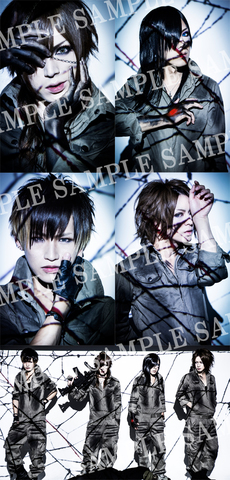 DIAURA「blind message」アーティスト写真【Aセット】