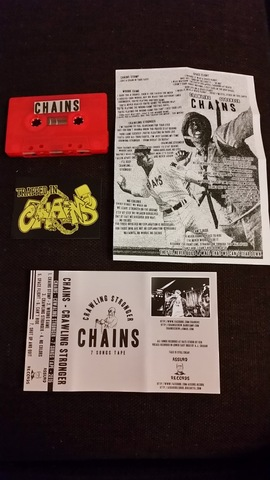 Chains  - Crawling stronger Cassette