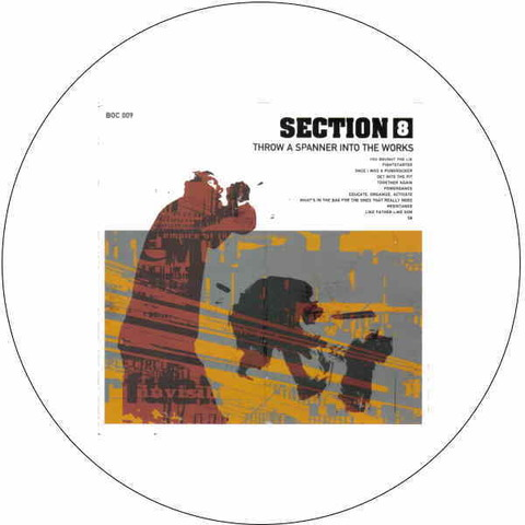 Section 8 - 1インチThrow spannerバッジ