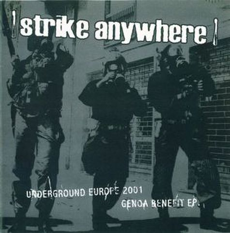 【中古】Strike Anywhere ‎– Underground Europe 2001  7""