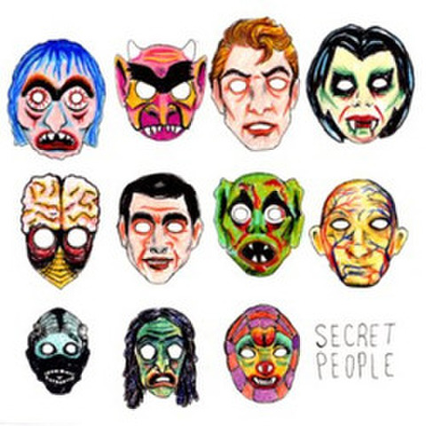 "Secret People ""S/T"" 7"" dnt50"