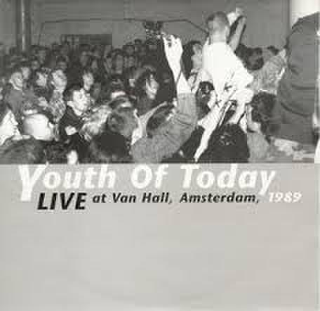 "【中古】Youth Of Today ‎– Live At Van Hall, Amsterdam, 1989 7"" dnt100"