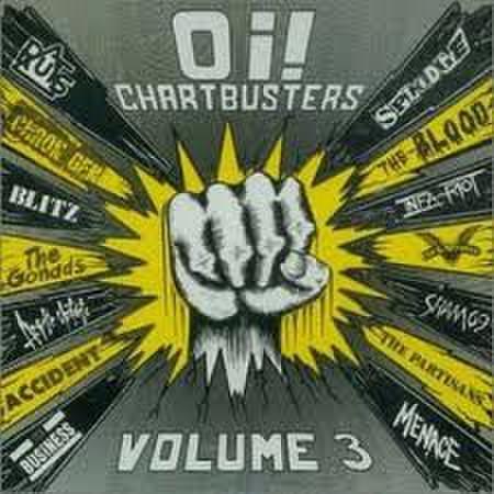 【中古】Various – Oi! Chartbusters Volume 3 LP