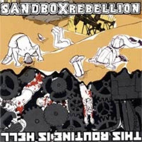 【卸売3枚セット】THIS ROUTINE IS HELL/SANDBOX REBELLION SPLIT CD【paypal決済可】